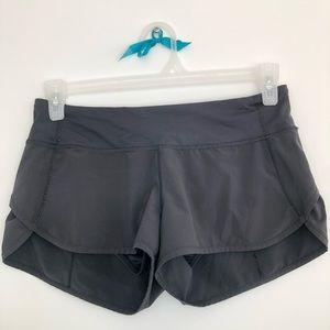 Lululemon Speed Shorts, size 6, Black